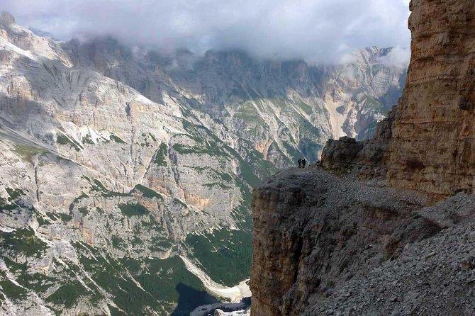 Via Ferrata Lipella at the Tofana di Rozes - Cortina d'Ampezzo