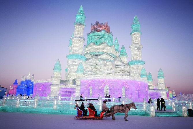 Harbin Group Day Tour:Harbin Ice and Snow Festival