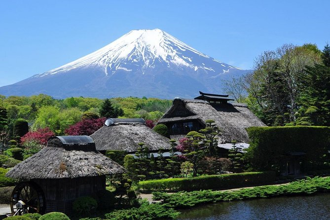 Mt.Fuji&Hakone 10hour, from/to Yokohama City, with Private Car, by Guide-Driver
