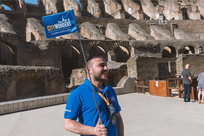 Semi Private Colosseum Tour with Special Access to the Arena Floor - Group of 10