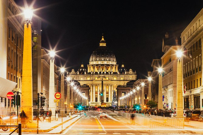 Fast Track Vatican Night tour including the Museums & Sistine Chapel