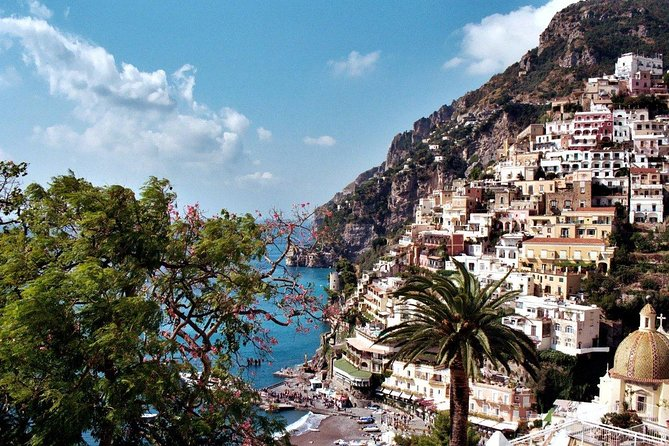 Pompeii and Positano Private Tour from your Hotel in Rome