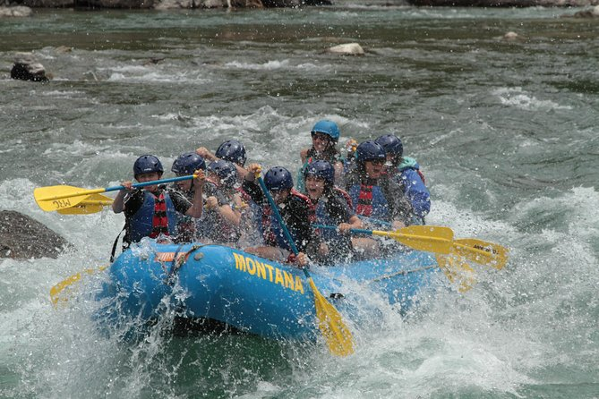 Half Day Glacier National Park Whitewater Rafting Trip