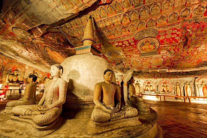 Kandy Tour B - Sigiriya, Pidurangala & Dambulla