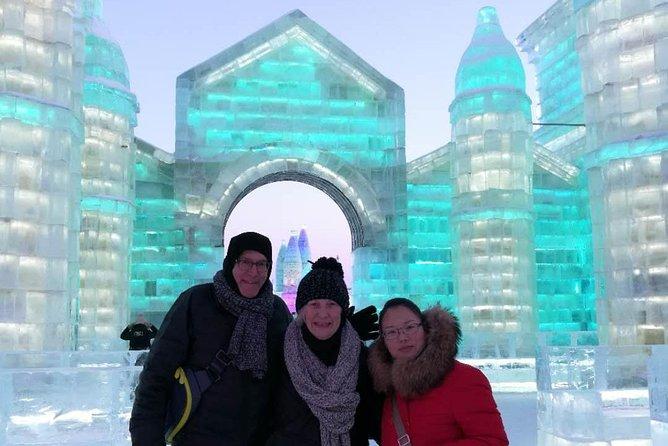 雪と氷のフェスティバルを訪れるハルビン3日間プライベートツアー、昼食付き