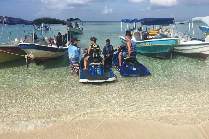 Shore Excursion: Jet Ski Adventure and Reef Snorkel with Beach