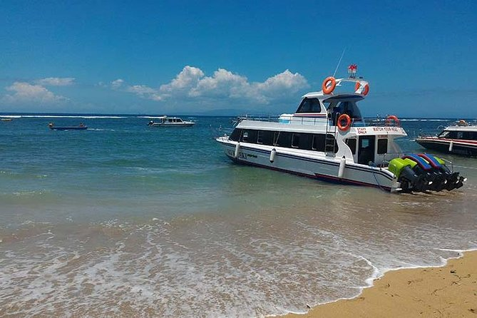 Best Deal Price! Fast boat One Way Ticket From Sanur Port To Nusa Penida Island!