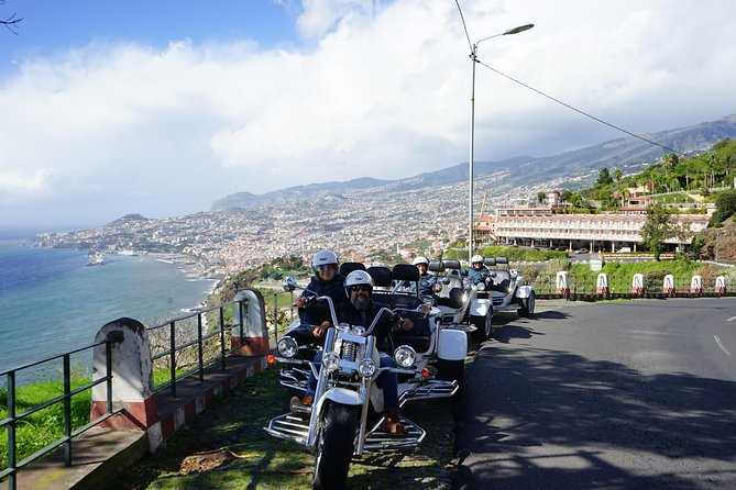 Madeira - 4 Hour Self-drive guided tour - (1 to 3 people - price per Trike)