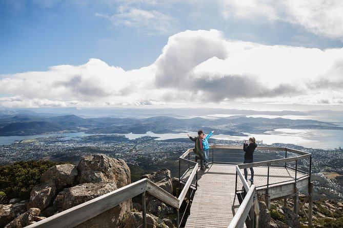 Full Day Tour from Hobart: Mt Wellington Pooley Wine Bonorong Wildlife Richmond