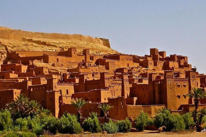 Ouarzazate , Kasbah of Ait ben Haddou ,Atlas Mountains 1 Day Excursion