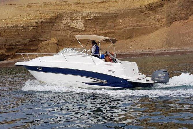 Ballestas Islands private yacht