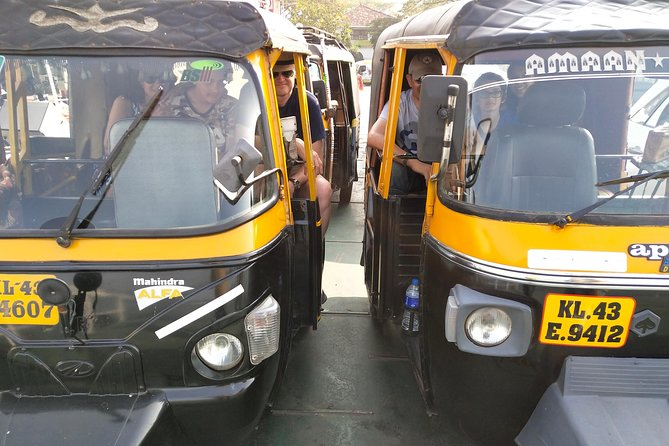 Private Tuk Tuk Tours in Kochi with Hotel Pickup