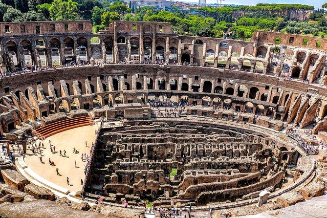 Fast Track - Colosseum Arena Floor and Underground Tour