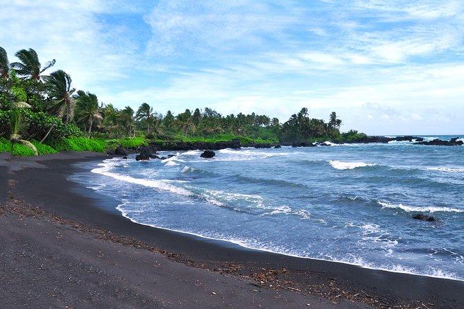 Hana Bay - Black Sand Beach
