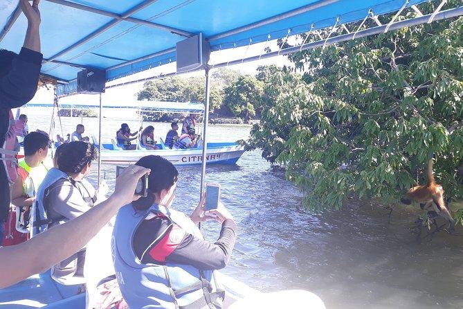 monkey island at Lake Granada