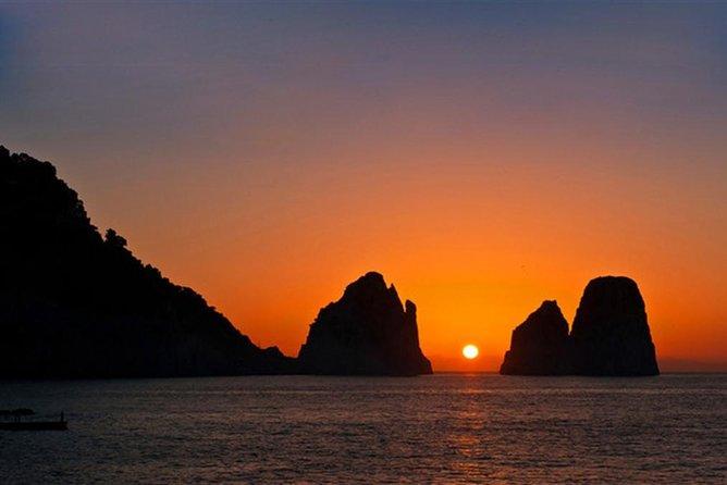 From Sorrento: Capri by night