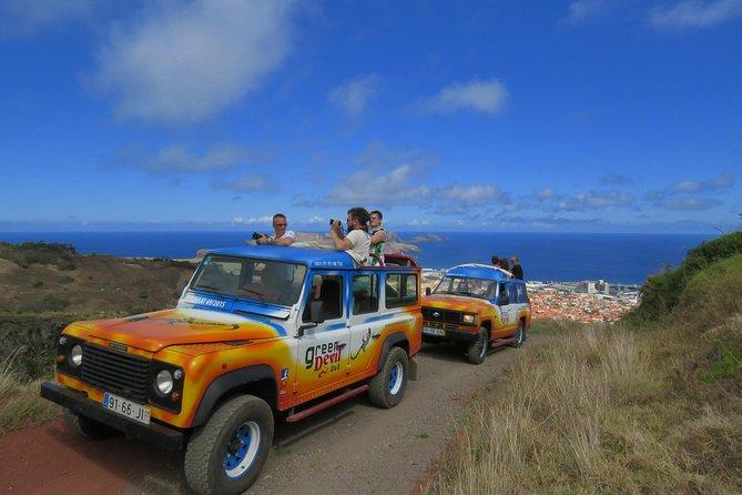 Excursión de un día al noreste de 4x4 Santana y paisajes