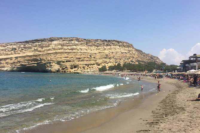 South Crete-Matala Beach and Caves - Phaistos Palace - Organic Winery. photo 7