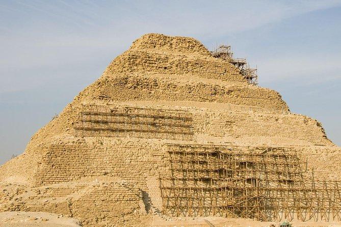 Pyramids of Giza &Sphinx &Saqqara Necropolis and Memphis Tour in Cairo