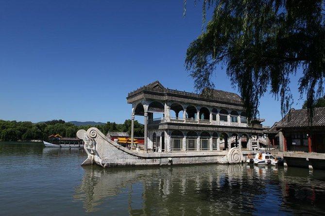 Excursion privée à la maison du panda de Beijing et croisière vers le Palais d'été avec dîner impérial