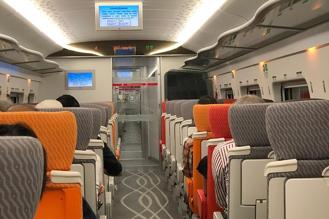 High speed with comfort