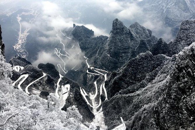 Private Day Tour of Tianmen Mountain with Skywalk and World's Longest glass bottom bridge