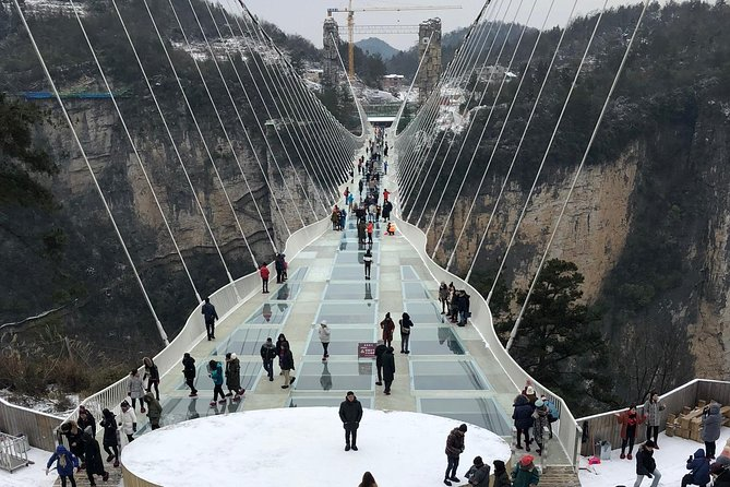 PrivateTour: Glass Bridge and Baofeng Lake from Zhangjiajie