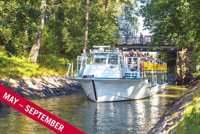Free Beautiful Canal Route,sightseeing by boat MAY-SEP