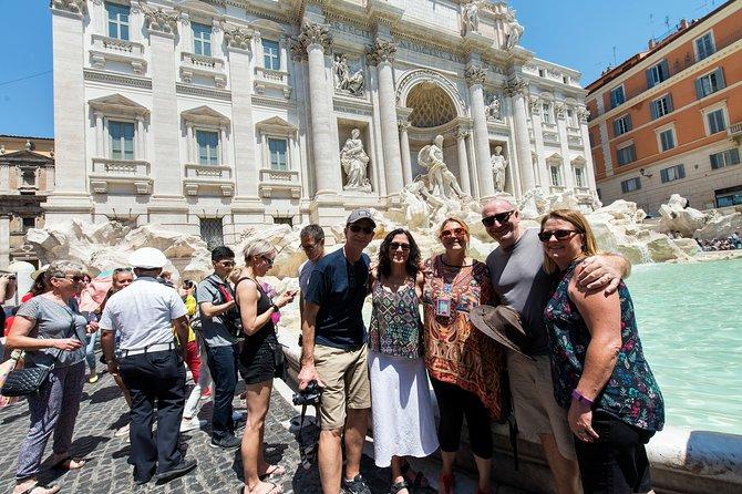 Visite privée 3en1: Colisée, Vatican et fontaine de Trevi