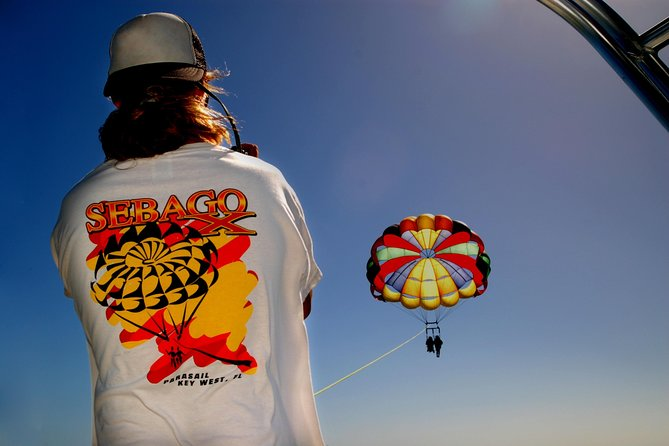 Parasailing in Key West with Professional Guide
