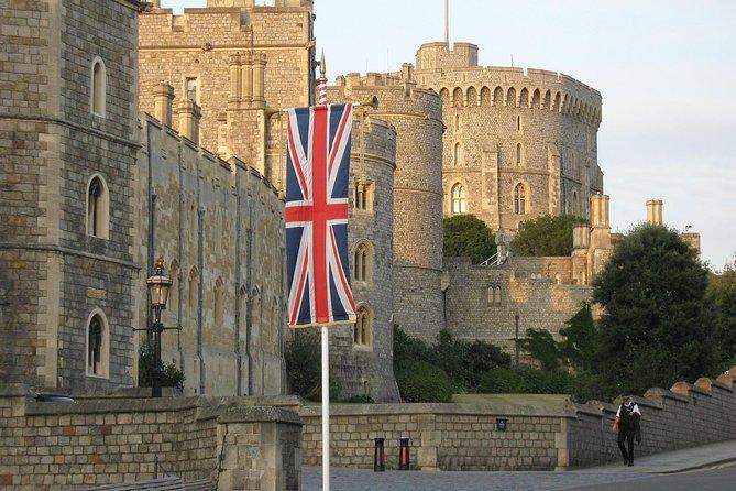 London & Heathrow to Southampton cruise terminals via Windsor Castle