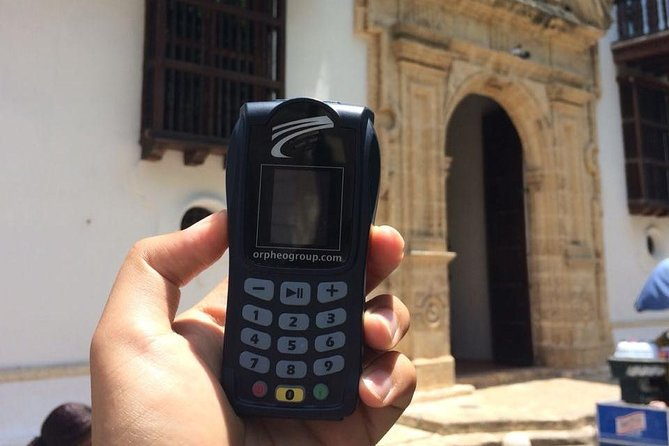 Audio Guide - Walking Tour with Interactive (Cartagena de Indias)