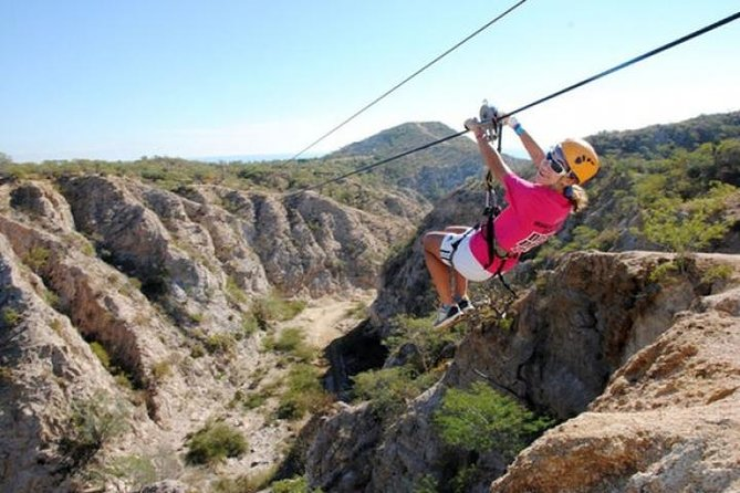 Awesome Ziplines and Rappelling Tour with Tequila Tasting