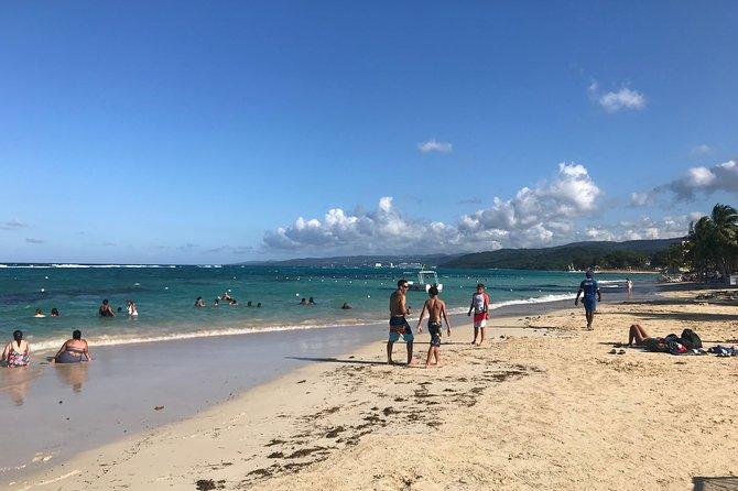 Green Gratto and beach combo from Ocho Rios