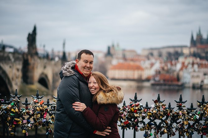 30 Minute Private Vacation Photography Session with Local Photographer in Prague