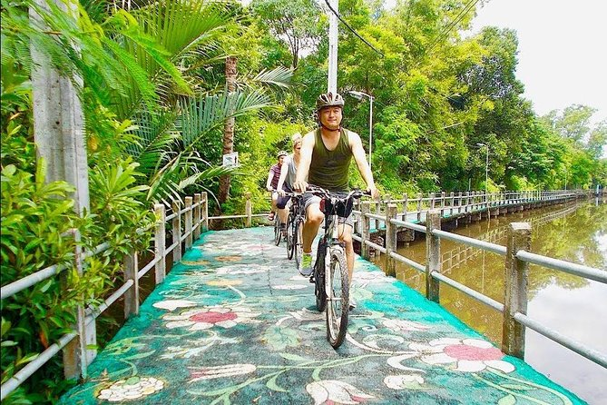 Bangkok's Green Lung Jungle Cycling Adventure Tour