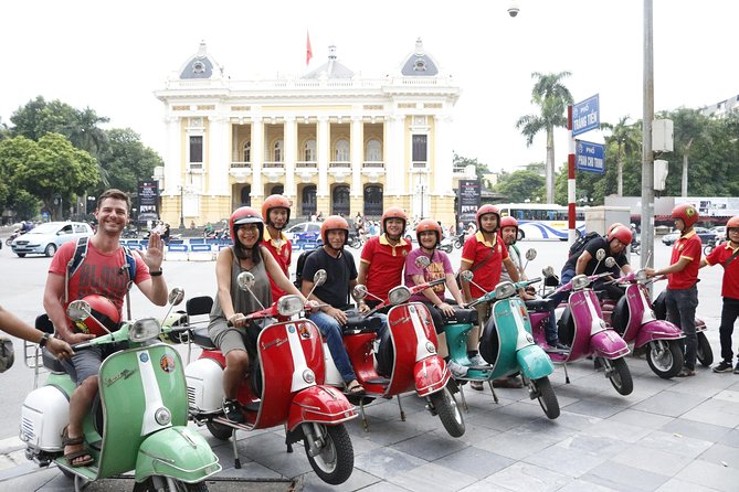 Hanoi Vespa City Tour