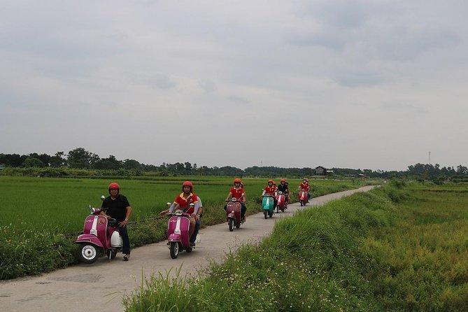 Vespa Countryside Tour Hanoi
