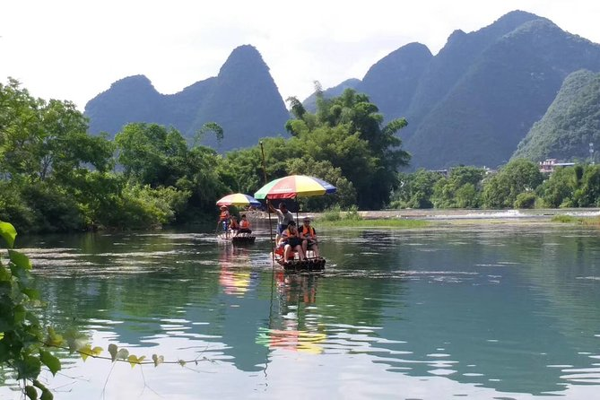 Private Li River Bamboo Rafting Tour from Yangshuo