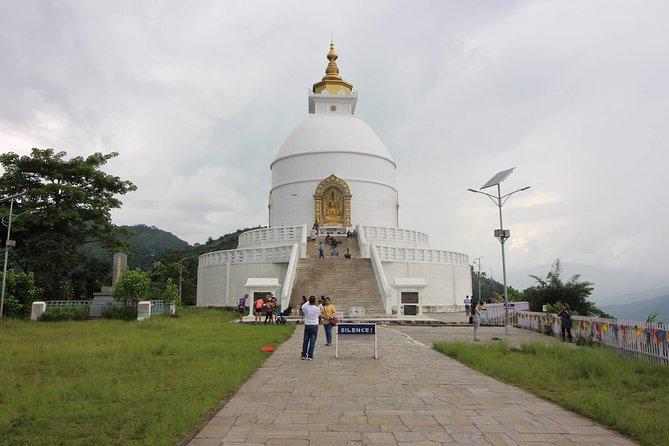 World Peace Stupa & Davi's Fall Hiking