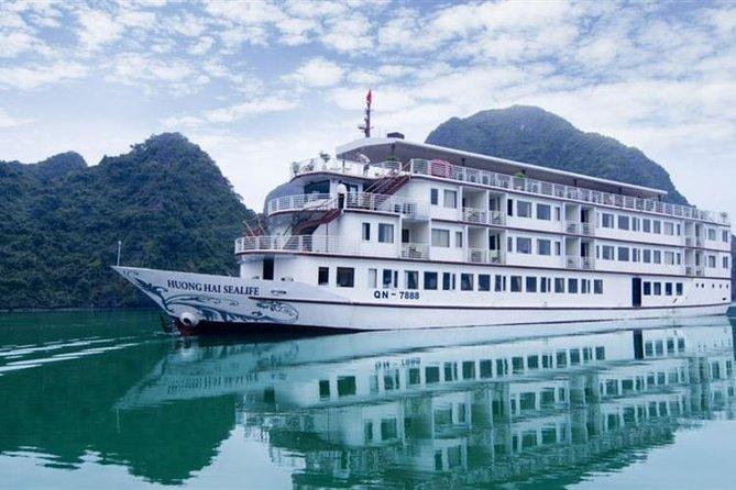 Halong Bay 2 day - 1 Night with Huong Hai Sealife Cruise 4 Star