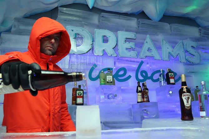 Dreams Ice Bar with transport