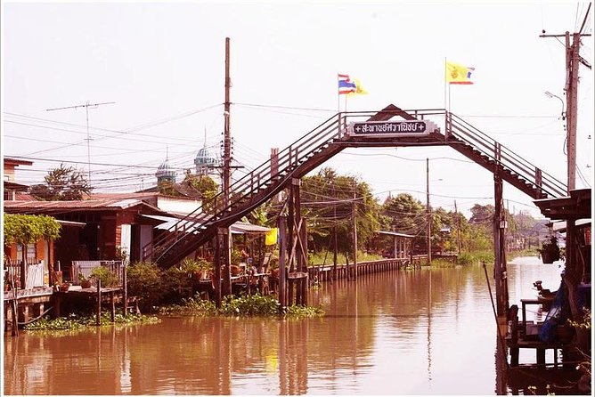 Private Tour: Khlong Suan 100 Years Old Market Trip (Near Suvarnabhumi Airport)
