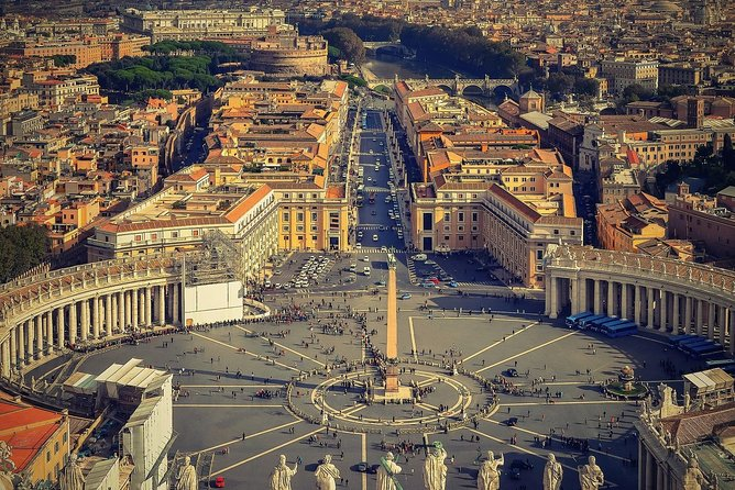 Vatican City and Ancient Rome private full day trip