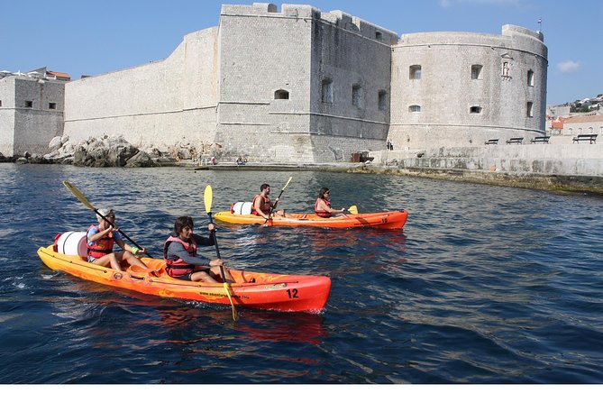 Kayaking Tour + Gourmet Lunch On Lokrum Island