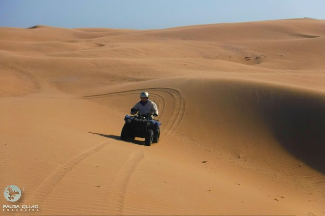 Half day quad biking: Big dunes and forest