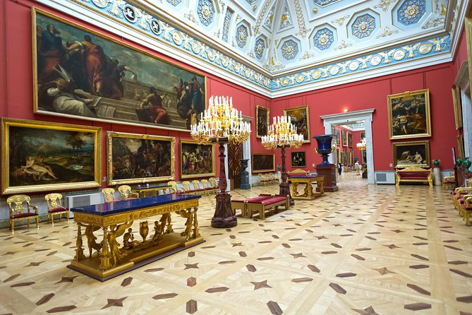 Private tour of Hermitage and Catherine Palace with Park in St Petersburg