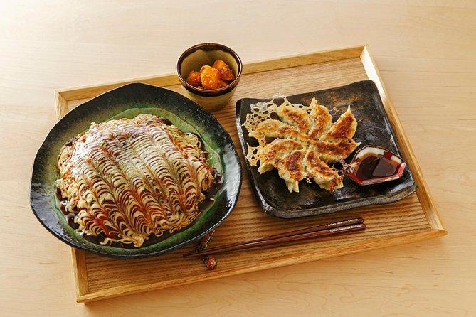 Home-style Okonomiyaki & Gyoza class and Local Supermarket Tour
