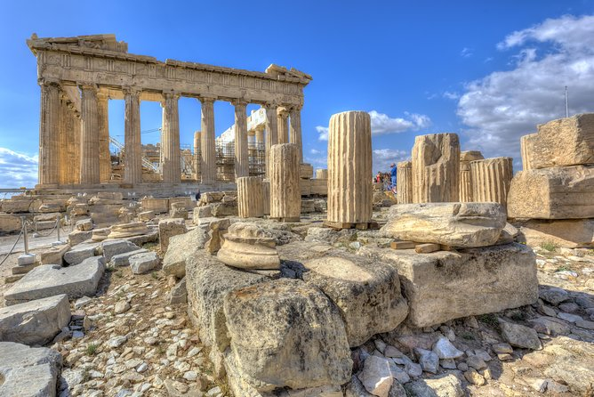 Full Day Athens City Tour with Acropolis & Cape Sounion Including Lunch