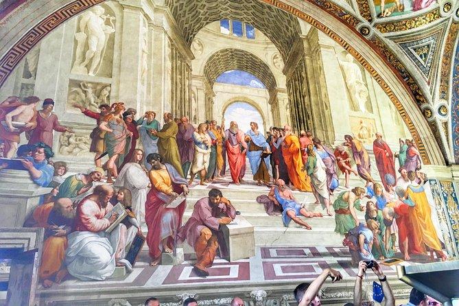 Guiada visit sem filas ao Museu Vaticano, Capela Sistina and Basílica de S. Pedro